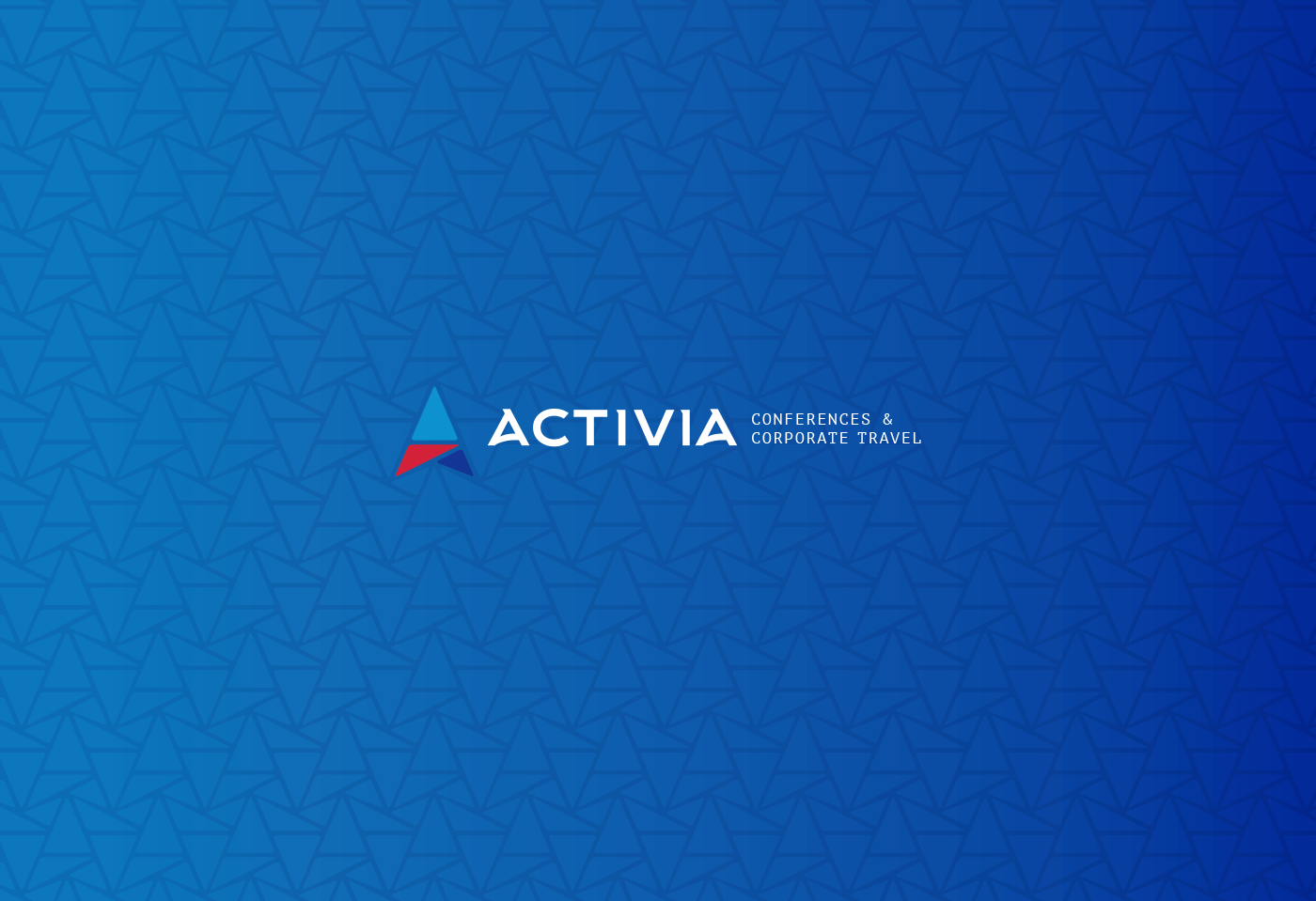 Marca | Activia Conferences & Corporate Travel - Desenvolvimento Drupal - Layout Responsivo